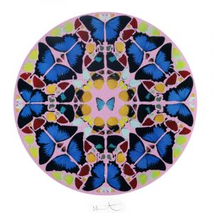 DAMIEN HIRST - Screen Print In Colors With Glitter Lithograph In Colors On Wove Paper