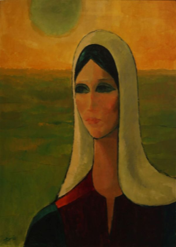 Ismail Shamout - Oil on Canvas