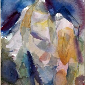 Kathem haider - Watercolor on Paper