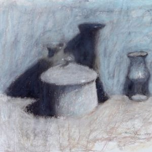 Hassan Sulaiman - Pastel On Paper